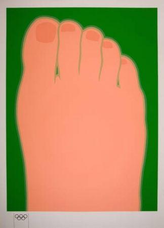 Serigrafia Wesselmann - Big foot