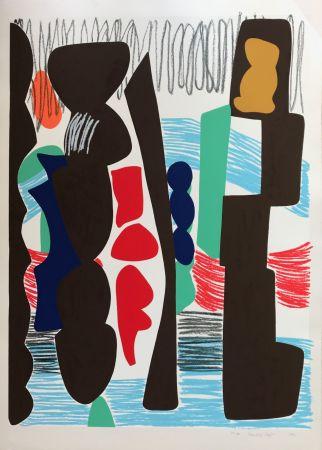 Serigrafia Jaffe - Big Square with Crayon