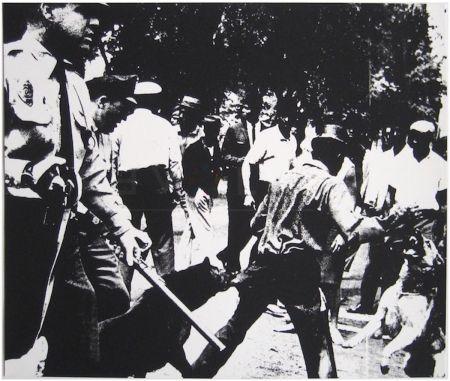 Serigrafia Warhol - Birmingham Race Riot (FS II.3)