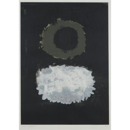 Serigrafia Gottlieb - Black Field