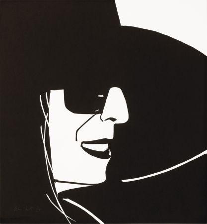 Incisione Su Legno Katz - Black Hat (Ada)