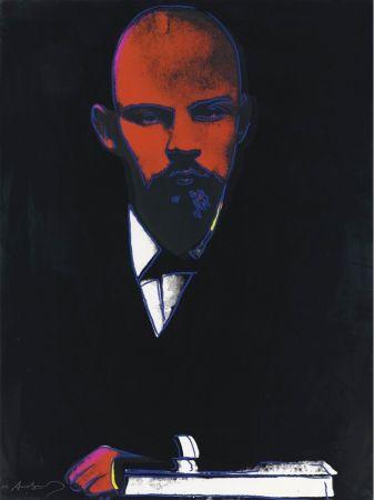 Serigrafia Warhol - Black Lenin (FS II.402)