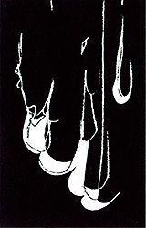 Litografia Blais - Blanc sur noir 1