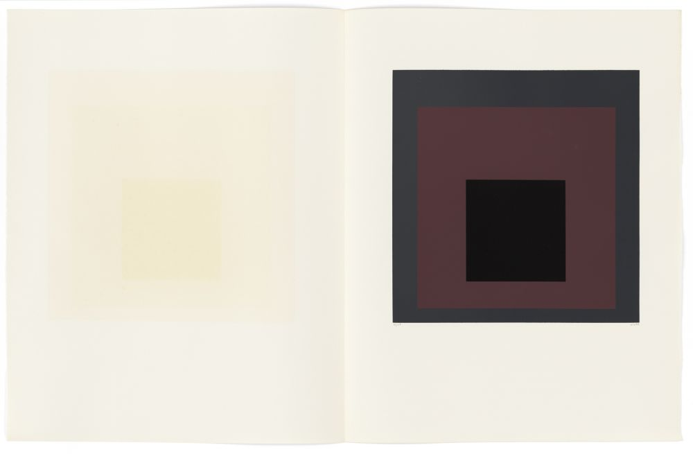 Serigrafia Albers - Blatt 5 aus