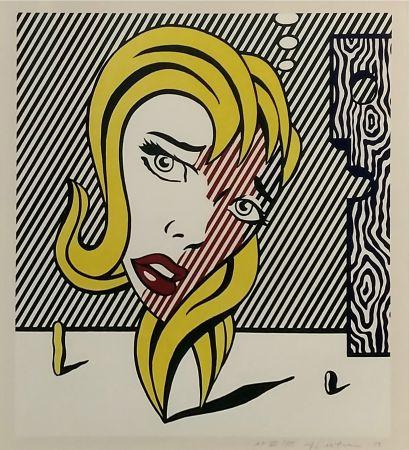 Litografia Lichtenstein - BLONDE (SURREALIST SERIES)