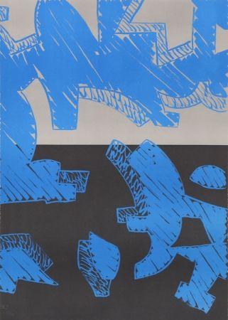 Litografia Accardi - Blu