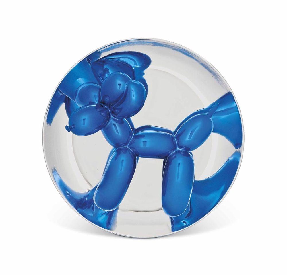 Non Tecnico Koons - Blue Balloon Dog