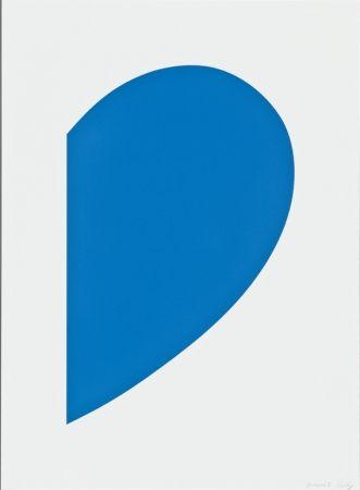 Litografia Kelly - Blue Curve