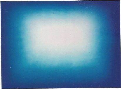 Acquaforte E Acquatinta Kapoor - Blue shadow 3