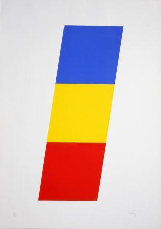 Litografia Kelly - Blue Yellow Red