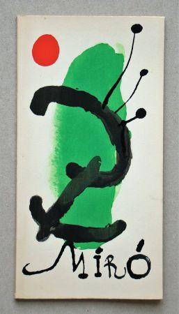 Libro Illustrato Miró - Bois gravés pour un poème de Paul Eluard