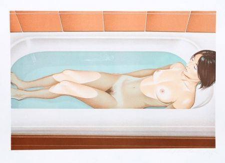 Litografia Ramos - Bonnards bath