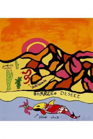 Litografia De Saint Phalle - Borrego desert