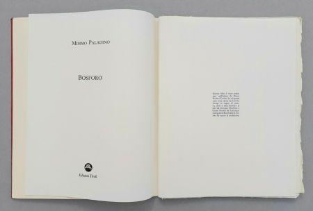 Linoincisione Paladino - Bosforo, 1982