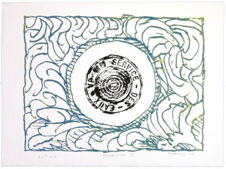 Litografia Alechinsky - Bouche d'eau III