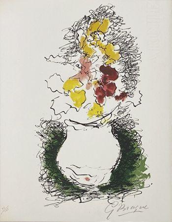 Litografia Braque - Bouquet