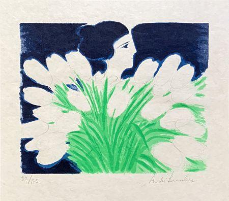 Litografia Brasilier - Bouquet de Printemps