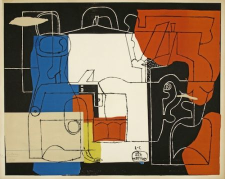Litografia Le Corbusier - Bouteilles (hand-signed & numbered)