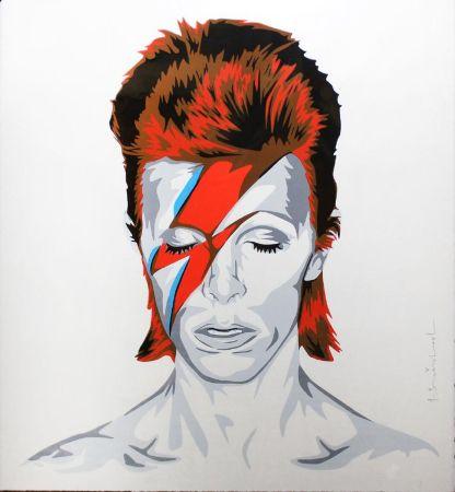 Serigrafia Mr. Brainwash - Bowie