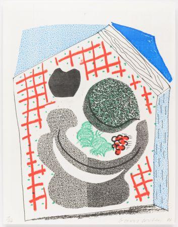 Non Tecnico Hockney - Bowl of Fruit