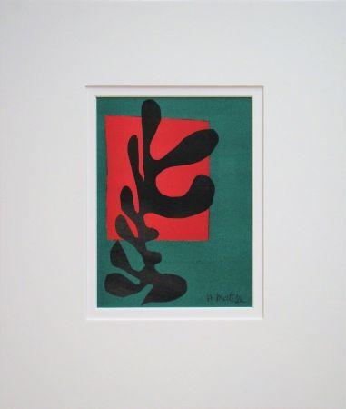 Litografia Matisse (After) - Boxeur nègre, 1947
