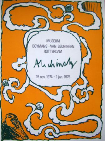 Manifesti Alechinsky - Boymans
