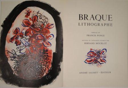 Libro Illustrato Braque - Braque Lithographe
