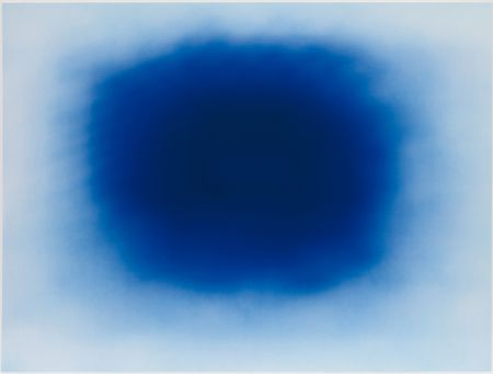 Litografia Kapoor - Breathing Blue
