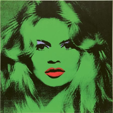 Serigrafia Warhol (After) - Brigitte Bardot