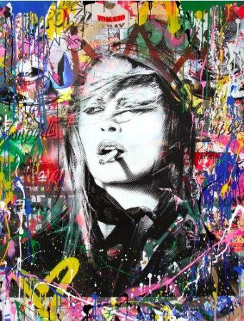 Serigrafia Mr Brainwash - Brigitte Bardot, 2018