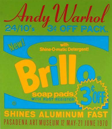 Serigrafia Warhol - Brillo Soap Pads