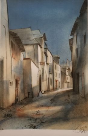Litografia Valadie - Brive - rue basse - Limousin