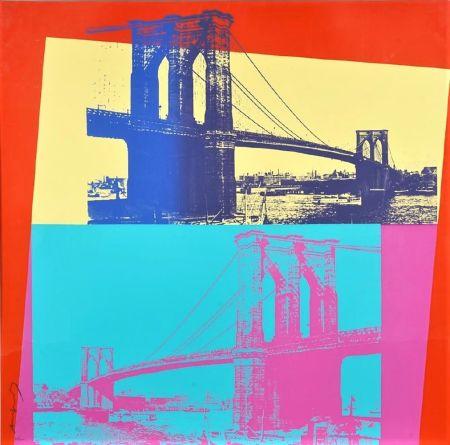 Serigrafia Warhol - Brooklyn Bridge