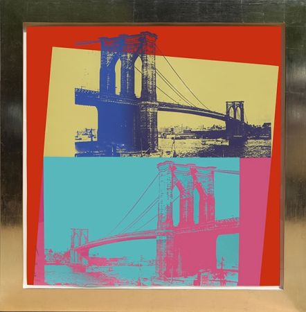 Serigrafia Warhol - Brooklyn Bridge (FS II.290)