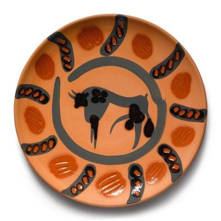 Ceramica Picasso - Bull 1957, January 22nd