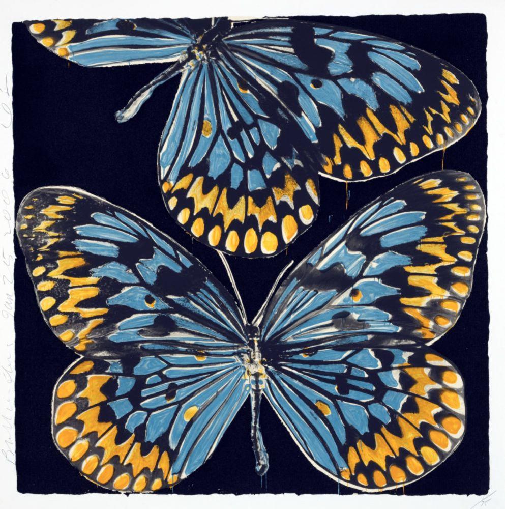 Serigrafia Sultan - Butterflies