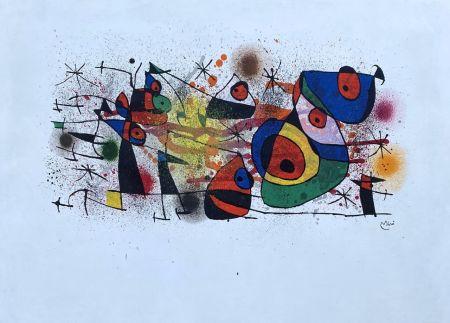 Litografia Miró - Céramique