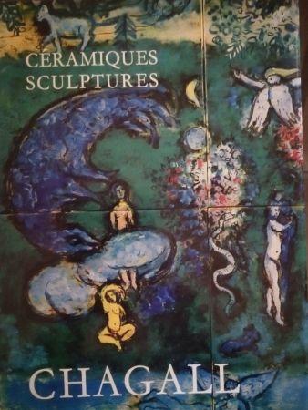 Libro Illustrato Chagall - Céramiques Sculptures