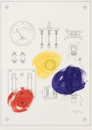 Litografia Takis - Cadran