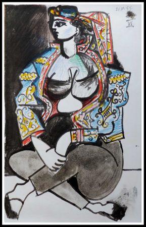 Litografia Picasso (After) - CAHIER DE LA CALIFORNIE IX