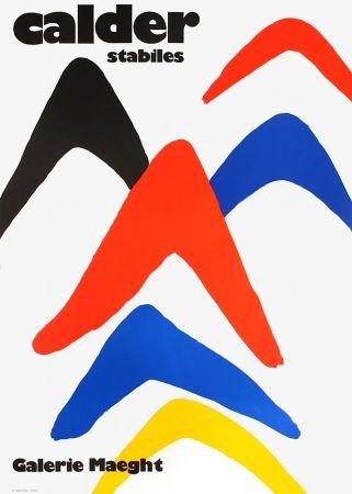 Manifesti Calder - CALDER 71 : Exposition