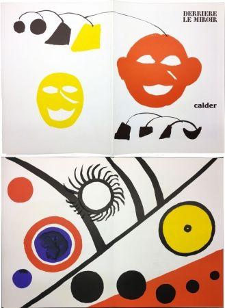 Libro Illustrato Calder - CALDER. DERRIÈRE LE MIROIR N° 221. 7 lithographies originales (1976).