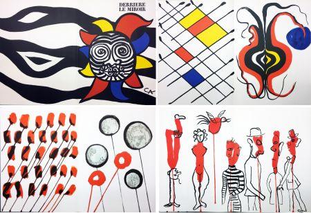 Libro Illustrato Calder - CALDER OISELEUR DU FER. DERRIÈRE LE MIROIR N° 156 (1966).