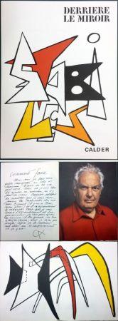 Libro Illustrato Calder - CALDER. STABILES. Derrière le Miroir n° 141. 8 LITHOGRAPHIES ORIGINALES (1963)