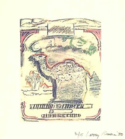 Litografia Rivers - Camel