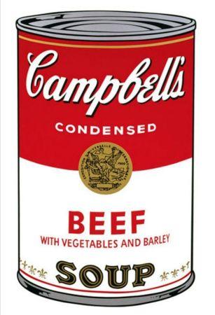 Serigrafia Warhol - '' Campbell 's  Soup ''
