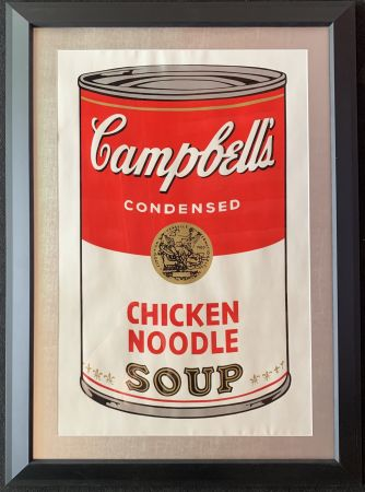 Serigrafia Warhol - Campbell's soup