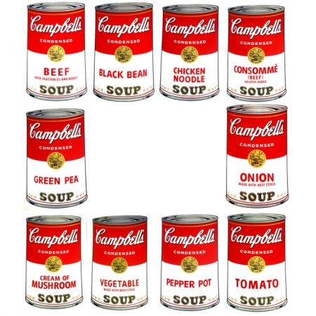 Serigrafia Warhol (After) - Campbell's Soup - Portfolio