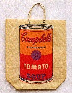 Serigrafia Warhol - Campbell's Soup Cam (Tomato)