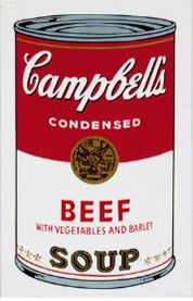 Serigrafia Warhol (After) - Campbell´s Soup Can